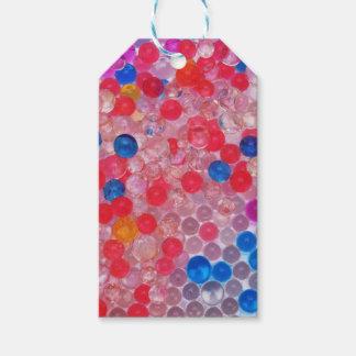 Etiquetas Para Regalos bolas transparentes del agua