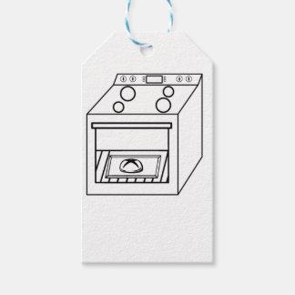 Etiquetas Para Regalos bollo en el horno, bebé divertido en mamá