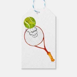 Etiquetas Para Regalos Bosquejo de la pelota de tenis