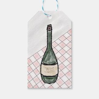 Etiquetas Para Regalos Botella de vino