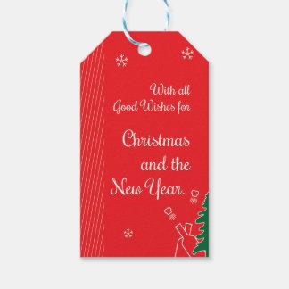 Etiquetas Para Regalos Buenos deseos del navidad