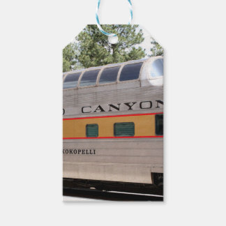Etiquetas Para Regalos Carro ferroviario del Gran Cañón, Arizona