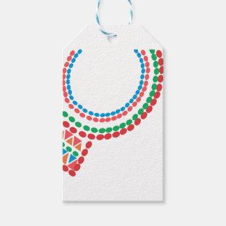 Etiquetas Para Regalos Collar de Maasai