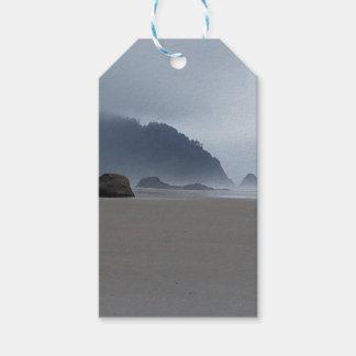 Etiquetas Para Regalos Costa de Oregon del punto del abrazo en un día