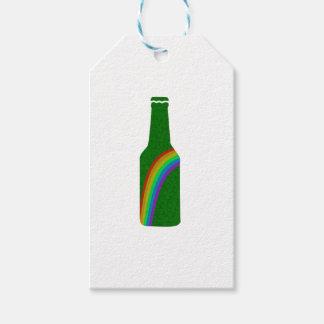 Etiquetas Para Regalos Día del St. Patricks - botella