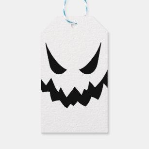 Etiquetas Para Regalos Fantasmas Blancos Del Dibujo Animado Zazzlees