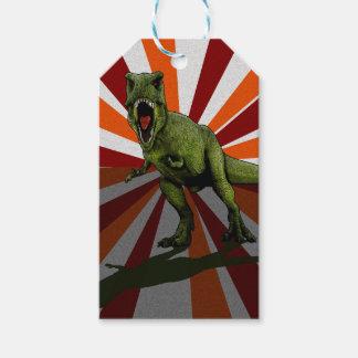 Etiquetas Para Regalos Dinosaurios T-Rex