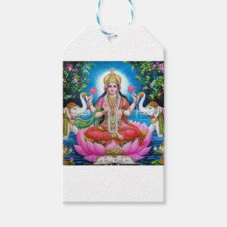 Etiquetas Para Regalos Diosa de Lakshmi del amor, de la prosperidad, y de
