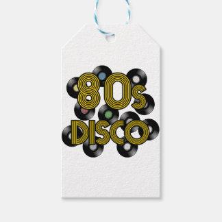 Etiquetas Para Regalos discos de vinilo del disco 80s