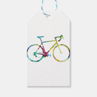 Etiquetas Para Regalos Diseño de la bici