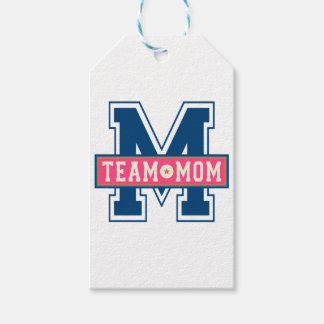 Etiquetas Para Regalos Diseño fresco del niño del equipo de la mamá