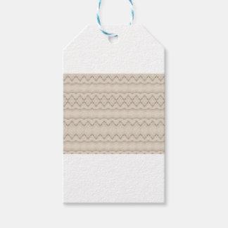 Etiquetas Para Regalos Diseño tribal del modelo de zigzag de la pluma