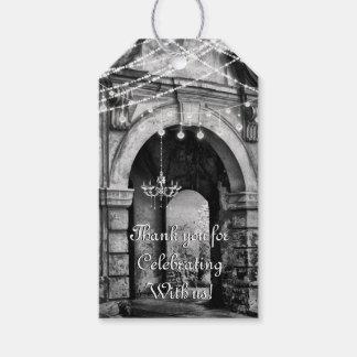 Etiquetas Para Regalos El boda gótico de la arcada de las luces