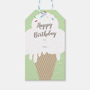 Feliz 7th Cumpleaños Pegatina Etiquetas Para Bolsa Fiesta Dulce Conos