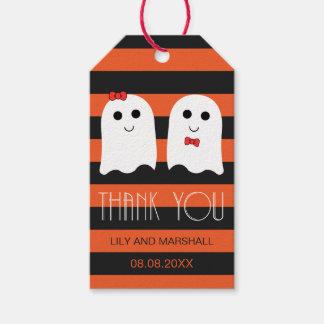 Etiquetas Para Regalos El sorteo del boda de Halloween le agradece marcar