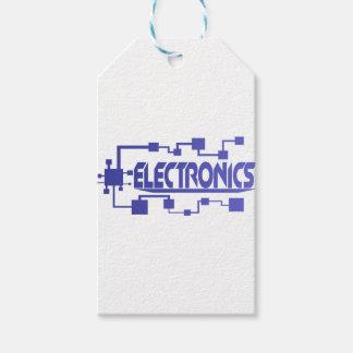 Etiquetas Para Regalos Electrónica