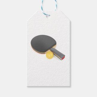 Etiquetas Para Regalos Estafa y bola de tenis de mesa