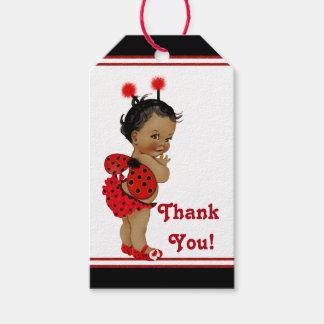 Etiquetas Para Regalos Fiesta de bienvenida al bebé afroamericana de la