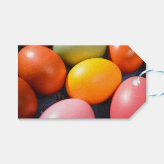 Etiquetas Para Regalos Foto colorida del personalizado de los huevos de