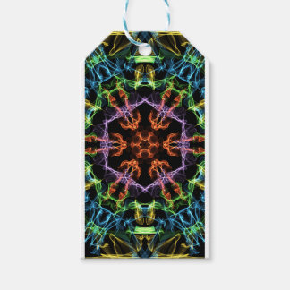 Etiquetas Para Regalos geométrico multicolor