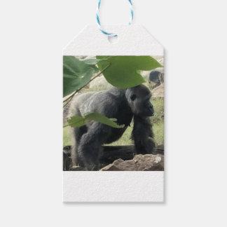 Etiquetas Para Regalos Gorila del Silverback
