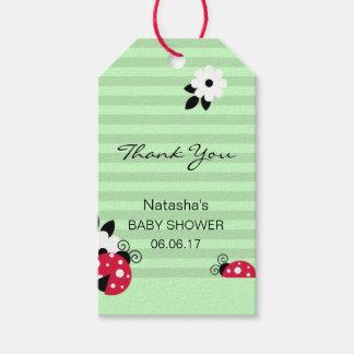 Etiquetas Para Regalos Gracias fiesta de bienvenida al bebé roja de la