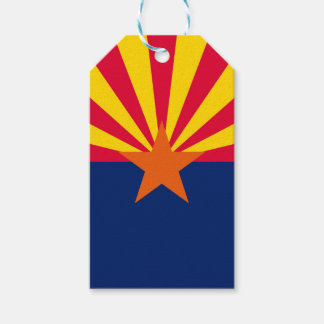 Etiquetas Para Regalos Gráfico dinámico de la bandera del estado de