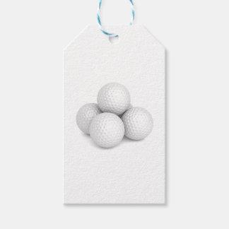 Etiquetas Para Regalos Grupo de pelotas de golf
