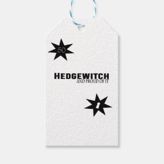 Etiquetas Para Regalos Hedgewitch y orgulloso de él