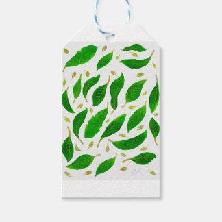 Etiquetas Para Regalos hojas - naturaleza