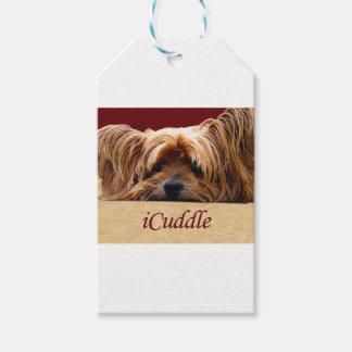 Etiquetas Para Regalos iCuddle Yorkshire Terrier
