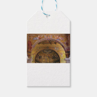 Etiquetas Para Regalos iglesia adornada dentro
