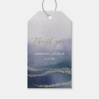 Etiquetas Para Regalos La acuarela elegante en el boda de la resaca le