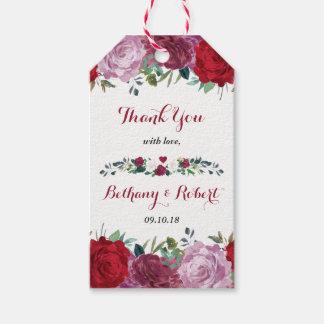 Etiquetas Para Regalos La colección floral romántica del boda
