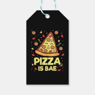 Etiquetas Para Regalos La pizza es Bae - dibujo animado divertido lindo