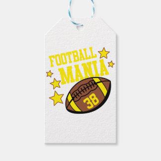 Etiquetas Para Regalos manía del fútbol