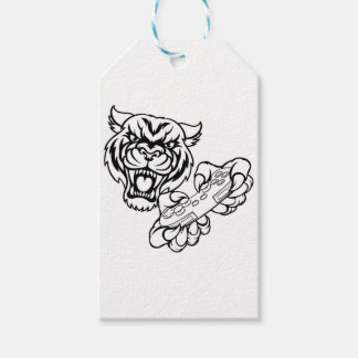 Etiquetas Para Regalos Mascota del videojugador del tigre