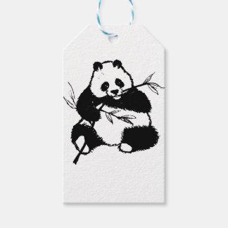 Etiquetas Para Regalos Masticación de la panda