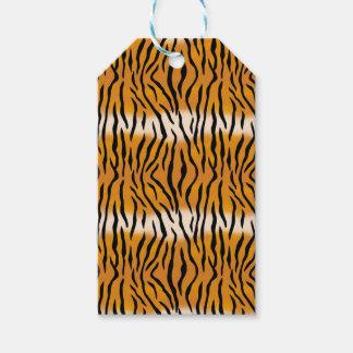 Etiquetas Para Regalos Modelo del tigre