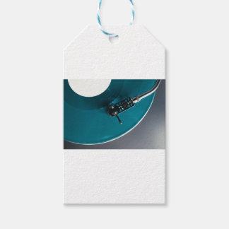 Etiquetas Para Regalos Música del álbum de disco de vinilo de la placa