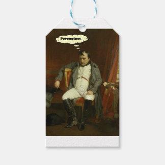 Etiquetas Para Regalos Napoleon piensa en puercos espines