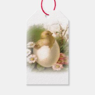 Etiquetas Para Regalos Nuevo polluelo de Pascua