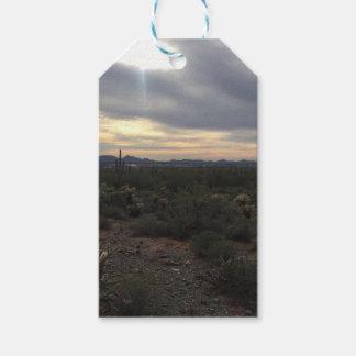 Etiquetas Para Regalos Paisaje de Arizona