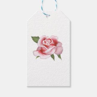 Etiquetas Para Regalos Papel de envoltorio para regalos de los rosas