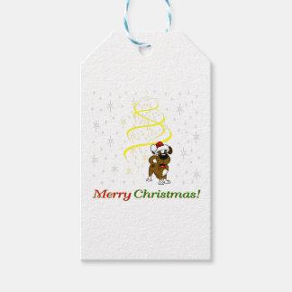 Etiquetas Para Regalos Perritos del navidad