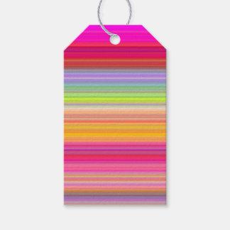 Etiquetas Para Regalos Personalice - el fondo multicolor de la pendiente
