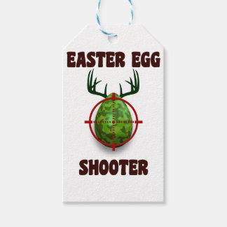 Etiquetas Para Regalos pistola del huevo de Pascua, desgin divertido del