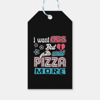 Etiquetas Para Regalos Pizza contra el ABS - dieta que abulta - novedad