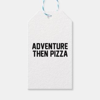 Etiquetas Para Regalos Pizza de la aventura entonces