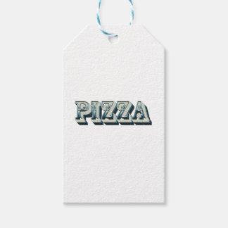 Etiquetas Para Regalos Pizza del vintage para los inconformistas y los